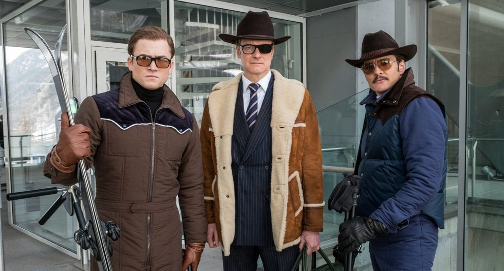 Kingsman the golden circle filmanmeldelse film anmeldelse Colin Firth
